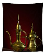 Two Arabic Coffee Pots Tapestry