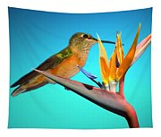 Two Birds Of Paradise Tapestry