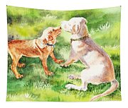 Two Brothers Labradors Tapestry