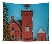 Two Harbors Lighthouse Tapestry