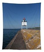 Two Harbors Mn Pier Light 9 Tapestry