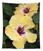 Two Hibiscus Tapestry