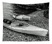 Two Kayaks On Seneca Lake Tapestry