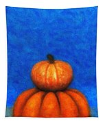 Two Pumpkins Tapestry