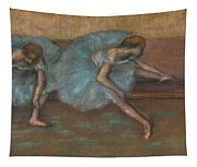 Two Seated Dancers Tapestry