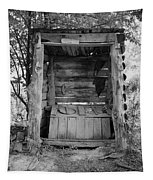 Two-seater Outhouse Tapestry