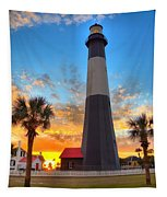 Tybee Island Sunrise Tapestry