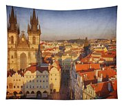 Tyn Church Old Town Square Tapestry