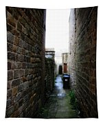 Typical English Back Alley Tapestry