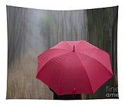 Umbrella And Blur Tapestry