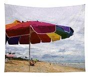 Umbrella Time Tapestry