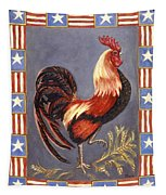 Uncle Sam The Rooster Tapestry