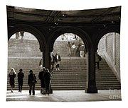 Under Bethesda Terrace Tapestry