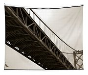 Under The Bay Bridge Tapestry