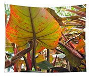 Under The Tropical Leaves Tapestry