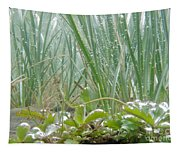 Underwater Shot Of Submerged Grass And Plants Tapestry