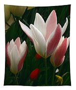 Unfolding Tulips Tapestry