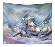 Unicorn Of Peace Tapestry