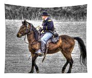 Union Horse Officer Tapestry