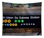 Union Square Subway Station Tapestry