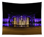 Union Station In Blue Tapestry