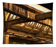 Union Station Roof Beams Tapestry