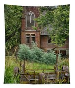United Brethren Church Of Elberton Washington Tapestry