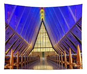 United States Airforce Academy Chapel Interior Tapestry