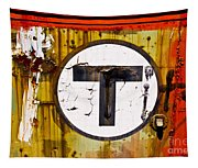 Unknown T - Railroad Art Tapestry