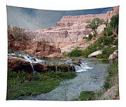 Unspoiled Waterfall Tapestry