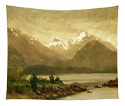 Untitled Mountains And Lake Tapestry