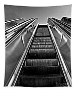 Up Escalator Tapestry