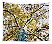 Up The Tree Tapestry