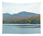 Upper Lake Toxaway In The Fall 2 Tapestry