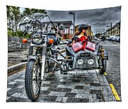Ural Wolf 750 And Sidecar Tapestry