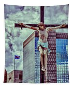 Urban Crucifixion Tapestry