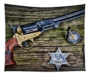 Us Marshall - American Justice - Cowboy Tapestry