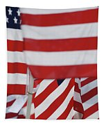 Usa Flags 02 Tapestry