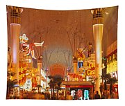 Usa, Nevada, Las Vegas, Night Tapestry