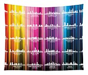 Usa Skylines 2 Tapestry
