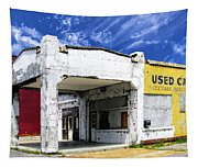 Used Cars Tapestry