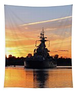 Uss Battleship Tapestry
