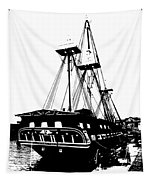 Uss Constitution 2 Tapestry