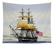 Uss Constitution Tapestry