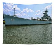 Uss New Jersey Tapestry