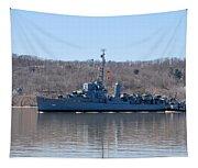 Uss Slater De 766 Tapestry