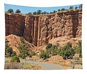 Utah Cowboy Tapestry