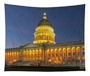 Utah State Capitol Building Tapestry