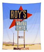 Vacancy Route 66 Tapestry