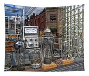 Vacuum Tubes And Diodes - Wallace Idaho Tapestry